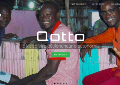 Site Web Qotto